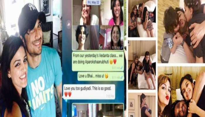 सुशांत राजपूत की बहन श्वेता ने पुराना चैट शेयर कर फिर किया भावुक