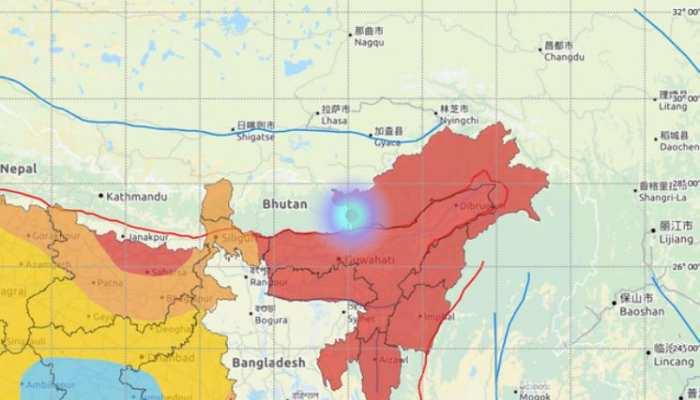 भूकंप ने तवांग को भी कंपाया, हल्की तीव्रता के झटके से सहमा अरुणाचल प्रदेश
