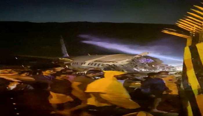 kerala plane crash air india express flight skidded off the runway
