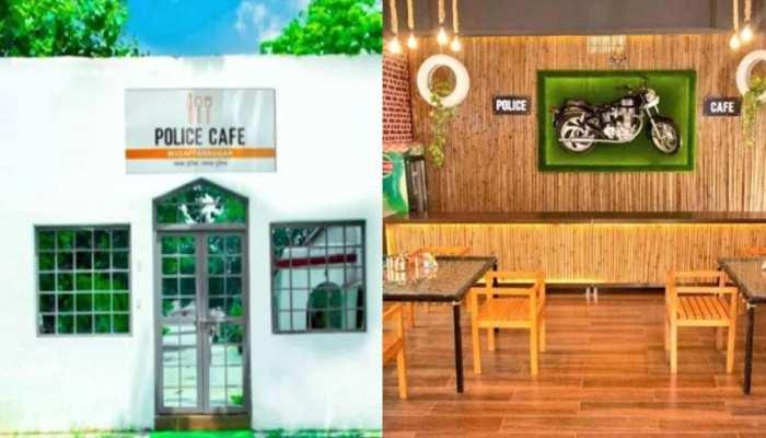 मुजफ्फरनगर में खुला देश का पहला 'Police Cafe', पुलिस वालों मिलेगी हेल्दी फूड की Online डिलीवरी