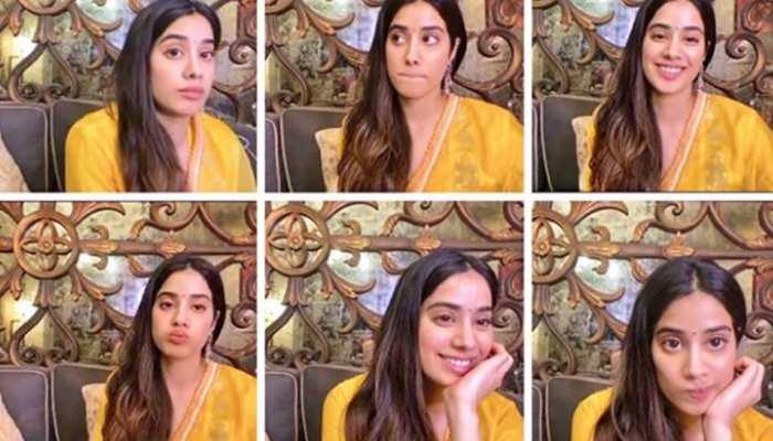 Janhvi Kapoor introduced her mood during digital promotion