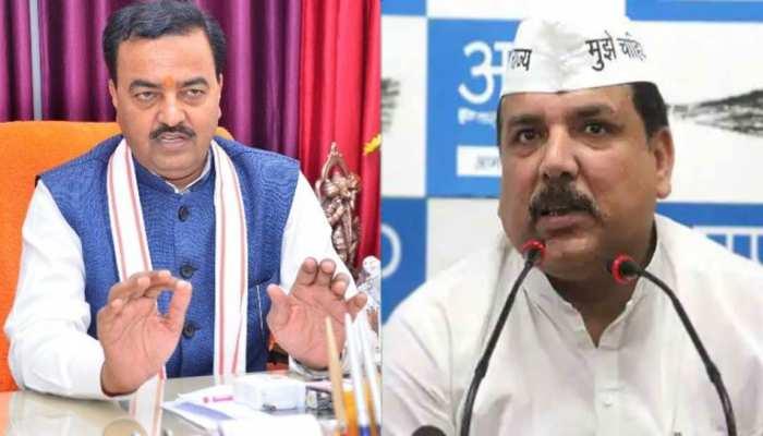 AAP नेता संजय सिंह ने केशव मौर्य के भूमि पूजन में नहीं जाने पर किया सवाल, तो डिप्टी CM ने इस अंदाज में दिया जवाब