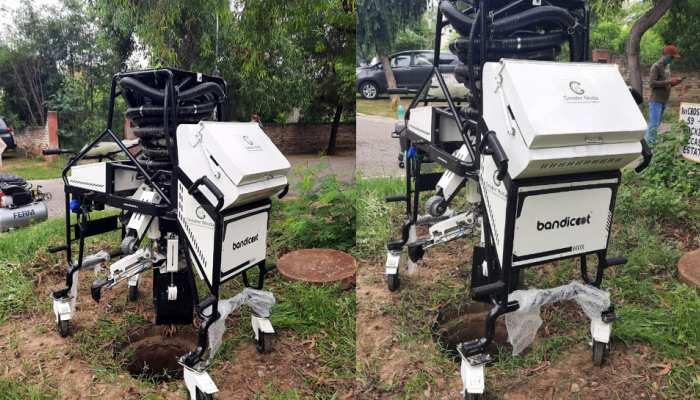 अब रोबोट करेंगे सीवर की सफाई, यूपी के इस शहर से हुई पहल