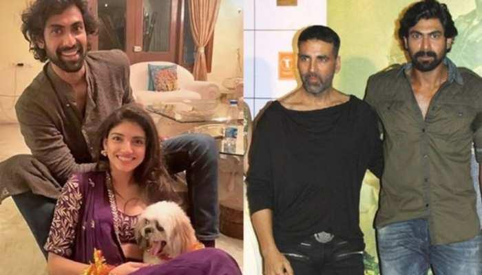 राणा दग्गुबाती और मिहिका को इस मजेदार अंदाज में Akshay Kumar ने दी शादी की मुबारकबाद