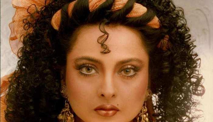 Bollywood heroine Rekha some very sexy and killer looks