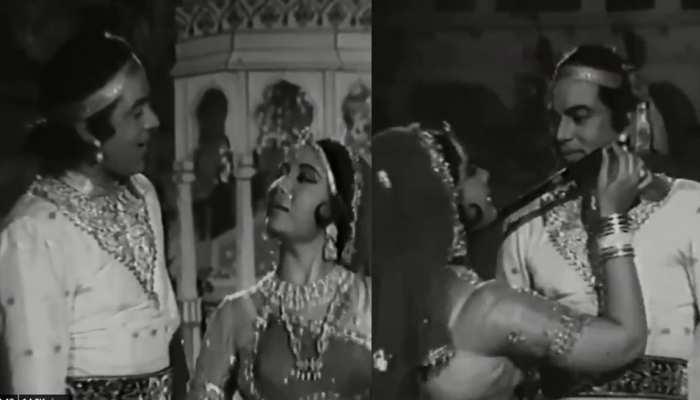 जब श्रीकृष्ण बने थे धर्मेंद्र और राधा बनीं थी मीना कुमारी- देखें VIDEO