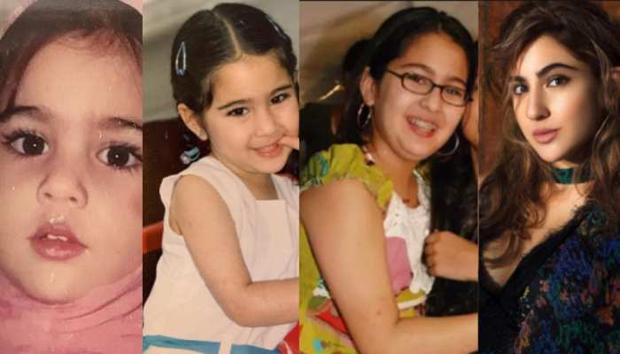 From childhood to till now see sara ali khan all pictures