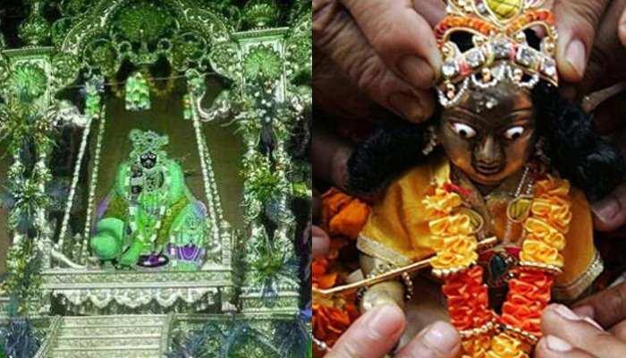 जन्माष्टमी पर्व के लिए दिल्ली के मंदिर तैयार, सोशल मीडिया पर दर्शन देंगे 'कान्हा'
