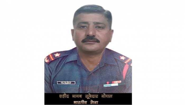 नागौर: शहीद नायब सुबेदार गोपालराम को सैनिक सम्मान के साथ दी गई अंतिम विदाई
