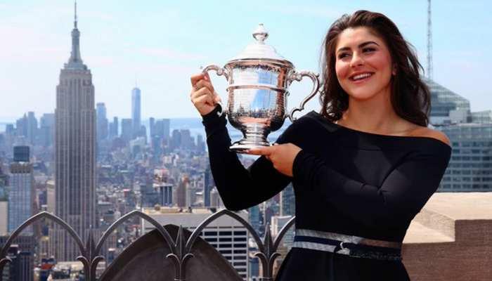 यूएस ओपन टेनिस टूर्नामेंट से हटीं मौजूदा चैंपियन बियांका एंड्रेस्क्यू