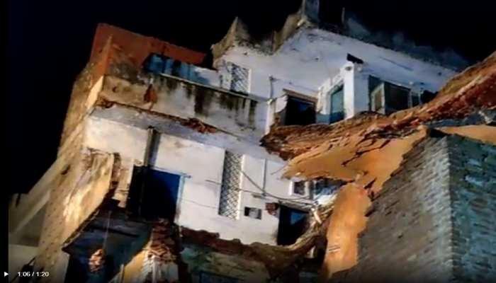 कानपुर: भारी बारिश के चलते 100 साल पुराना मकान ढहा, मां-बेटी की मौत