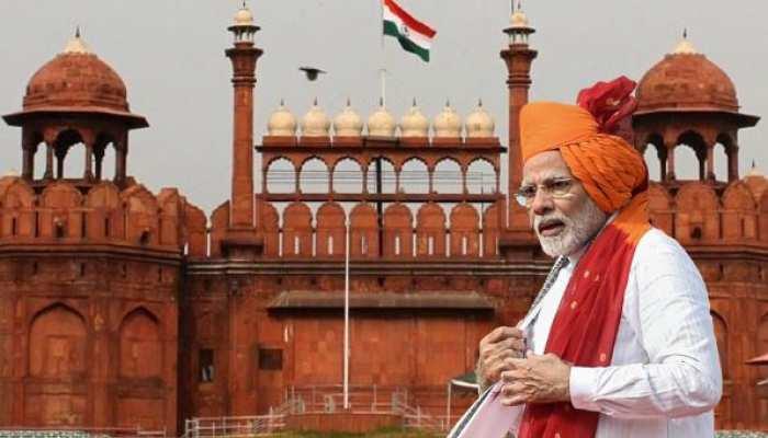 'लालकिले' से PM मोदी का 'रामराज्य' वाला संबोधन! 10 खास बातें