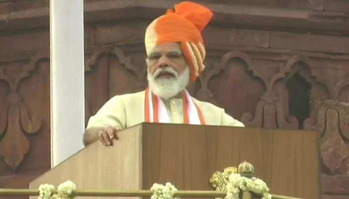 74वां यौमे आज़ादी: PM नरेंद्र मोदी ने लाल किले पर 7वीं बार फहराया तिरंगा, पढ़े खिताब की अहम बातें