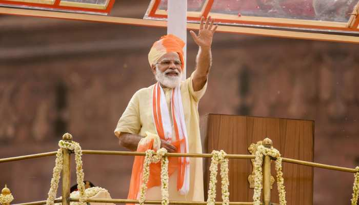 Prime Minister Narendra Modi's 10 style on Independence Day, See Photos