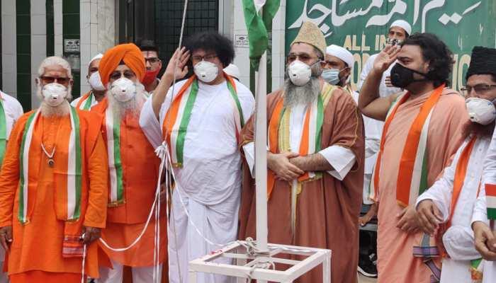 यौमे आज़ादी के मौके पर 5 मज़हब के लोगों ने पेश की हिंदुस्तान की ताज़ा तस्वीर