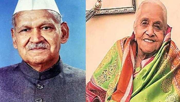 भारत के पूर्व राष्ट्रपति डॉ शंकर दयाल शर्मा की पत्नी का 90 वर्ष की उम्र में निधन