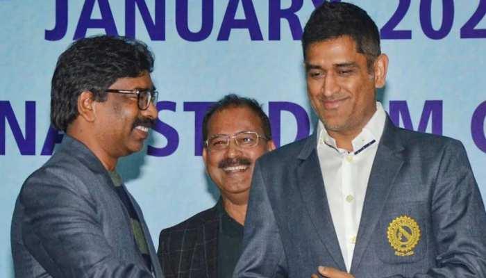 झारखंड के सीएम ने की BCCI से अपील, धोनी के लिए कराएं फेयरवेल मैच