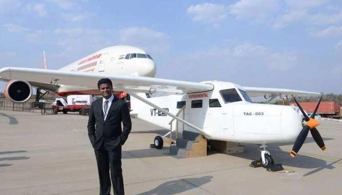 फ्लैट की छत पर विकसित किया एयरक्राफ्ट, उड़ान का पहला टेस्ट सफलतापूर्वक पूरा