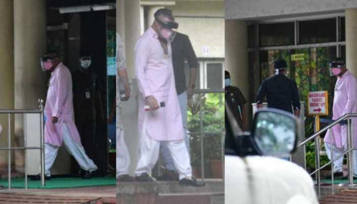 Sanjay Dutt visited Lilavati hospital with his sister Priya Dutt