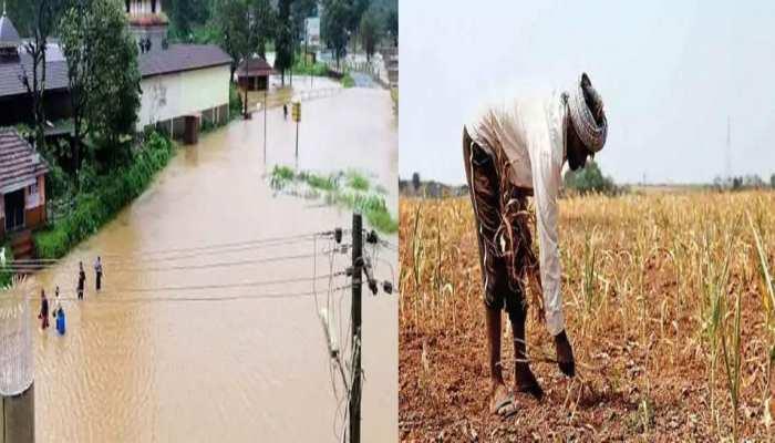 मध्य प्रदेश में कहीं बने बाढ़ के हालात, कहीं किसानों को है बारिश का इंतजार