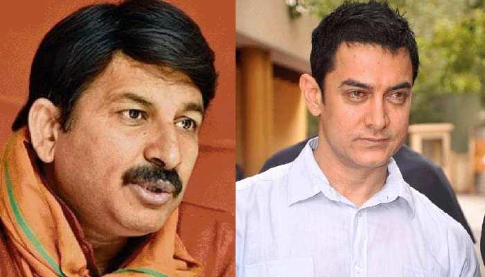 बीजेपी सांसद मनोज तिवारी ने भी आमिर खान पर उठाए सवाल, कही ये बात