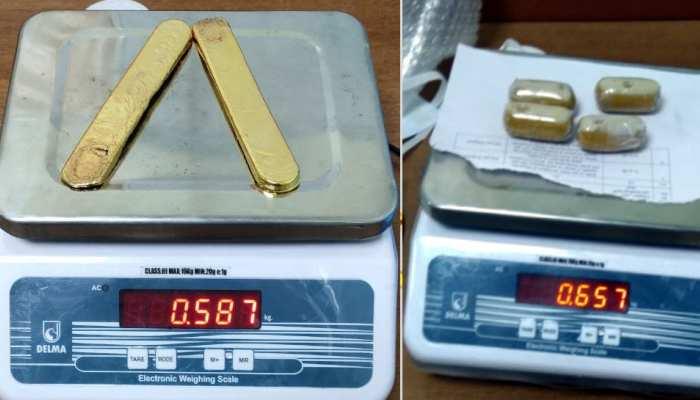 इंटेलिजेंस यूनिट ने 30 लाख का सोना पकड़ा, बिस्कुट के पैकेट में छिपाकर ला रहा था यात्री
