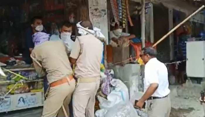बलिया: लोगों पर लट्ठ बरसाने वाले SDM पर गिरी गाज, सीएम योगी की सख्ती के बाद सस्पेंड