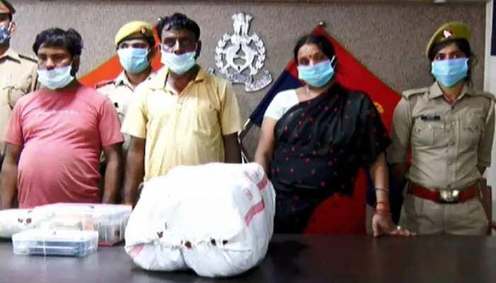 कानपुर में युवाओं को नशा परोसने वाले गिरोह का भंडाफोड़, 4 महिलाओं समेत 7 गिरफ्तार