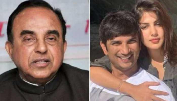 Sushant Suicide Case: सुब्रमण्यम स्वामी बोले- '...तो रिया को गिरफ्तार करना ही होगा'