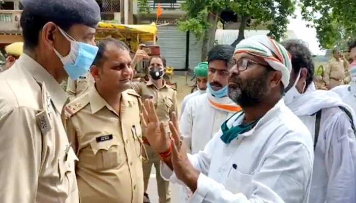 बलिया जा रहे अजय कुमार लल्लू को पुलिस ने किया गिरफ्तार, कहा- मुकदमे से कौन डरता है