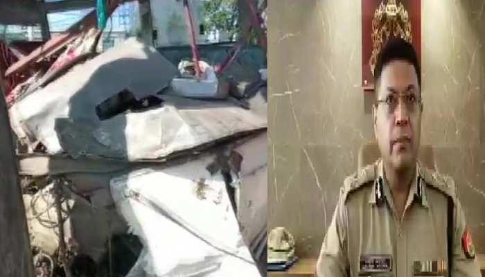 लखनऊ में दो सरकारी बसों में भीषण टक्कर, 6 की मौत