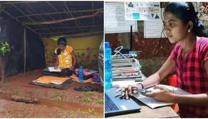 जज्बे को सलाम: ऑनलाइन क्लास में दिक्कत होने पर पहाड़ी पर बनाई झोपड़ी, पीएमओ ने की इंटरनेट की व्यवस्था