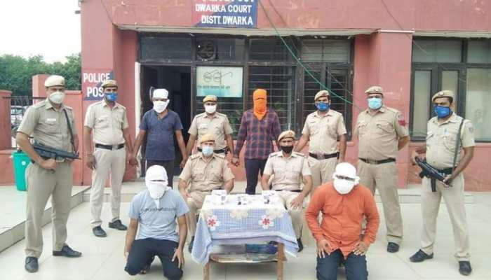 दिल्ली: जेल से चल रहा था जबरन वसूली का रैकेट, जेल वार्डन सहित पांच गिरफ्तार