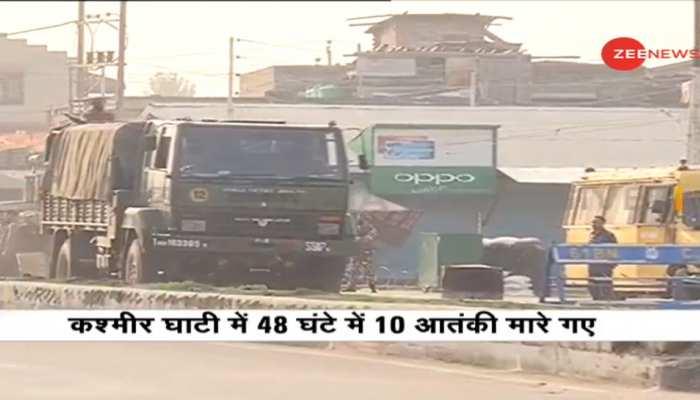 श्रीनगर: पंथाचौक में सुरक्षाबलों के साथ मुठभेड़ में 3 आतंकवादी ढेर, एक ASI भी शहीद
