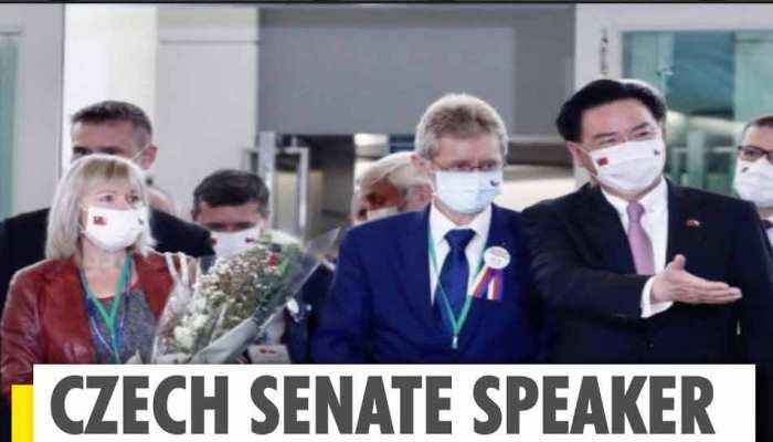 चीन के विरोध को ठेंगा दिखा ताइवान पहुंचा चेक प्रतिनिधिमंडल, विदेश मंत्री ने किया स्वागत