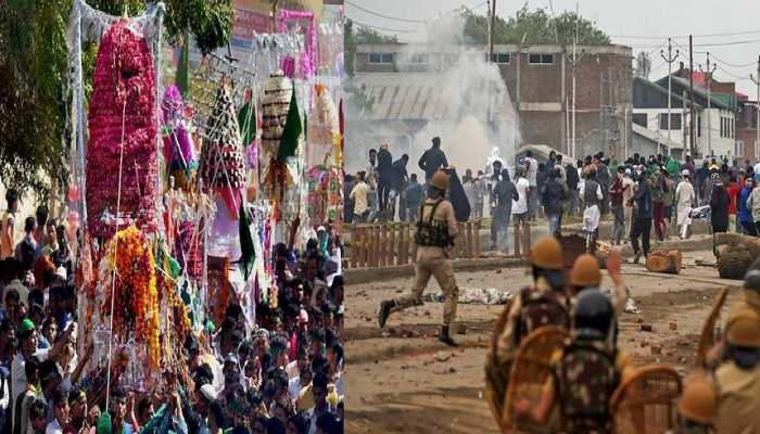 जम्मू कश्मीर: जबरन मुहर्रम का जुलूस निकाल रहे थे लोग, पैलेट गन से 19 लोग घायल