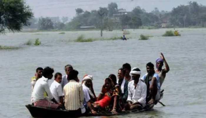 उत्तर प्रदेश में बारिश बनी जान की आफत, 600 से अधिक गांव बाढ़ से प्रभावित