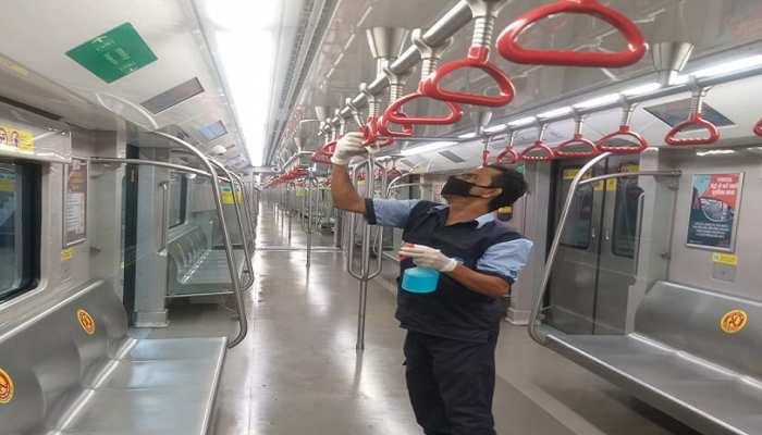 Unlock 4: लखनऊ में मेट्रो संचालन बहाल होने से पहले जरूरी तैयारियां पूरी, सैनिटाइजेशन का पूरा ख्याल