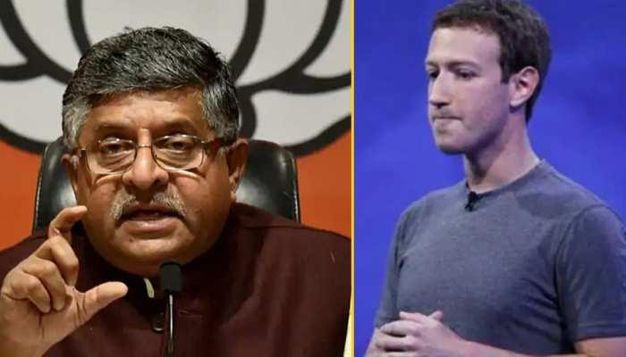 रविशंकर प्रसाद ने मार्क ज़करबर्ग को लिखा खत, Facebook India पर लगाए संगीन इल्ज़ाम