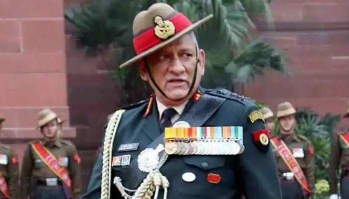 चीन के आक्रामक रवैये से निपटने के लिए तैयार हैं तीनों सेनाएंः  जनरल बिपिन रावत