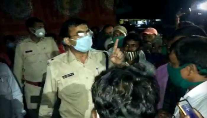 रामगढ़ में आंदोलन कर रहे 25 गांवों के लोगों पर लाठीचार्ज, इलाका पुलिस छावनी में तब्दील