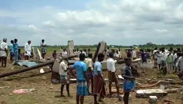 तमिलनाडु: पटाखा फैक्ट्री में धमाका, 5 लोगों की मौत, 4 ज़ख्मी