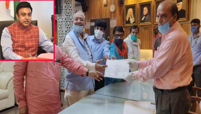 राज्य सभा के लिए निर्विरोध चुने गए सैयद जफर इस्लाम, BJP के 7वें मुस्लिम सांसद बने