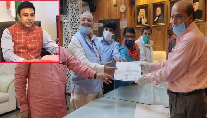 ज़फर इस्लाम बने भाजपा के 7वें मुस्लिम एमपी, बिला मुकाबला हुए मुंतखब