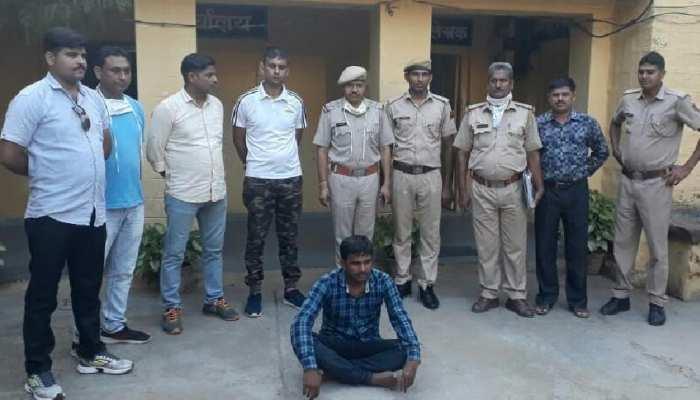 राजस्थान और मध्य प्रदेश का इनामी डकैत रविंद्र गुर्जर गिरफ्तार, ऐसे पकड़ा गया..