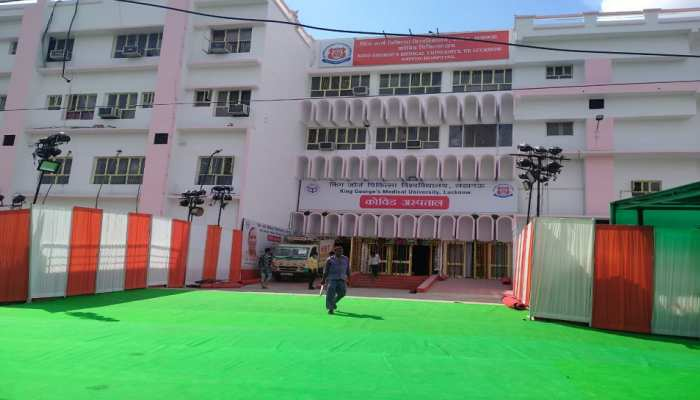लखनऊ: सीएम योगी करेंगे 320 बेड वाले कोविड अस्पताल का उद्घाटन, राजधानी में कोरोना चरम पर