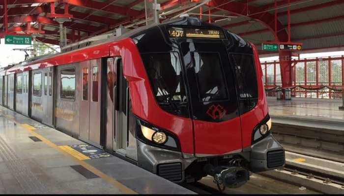 171 दिनों बाद फिर दौड़ने लगी लखनऊ मेट्रो, पहली ट्रेन में बैठे 45 यात्री, पूरे दिन में 7000 ने की यात्रा