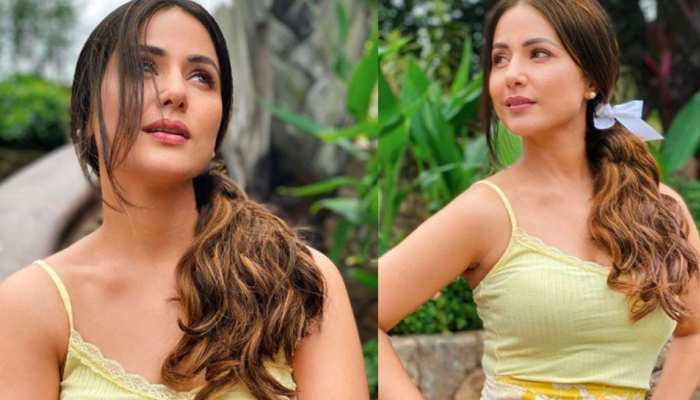 these pictures of hina khan Viral on the internet again see photos