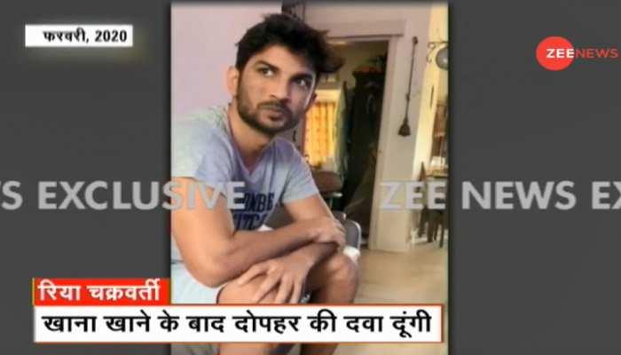 ZEE NEWS के वीडियो से मची खलबली, रिया चाहती तो बच जाते सुशांत!