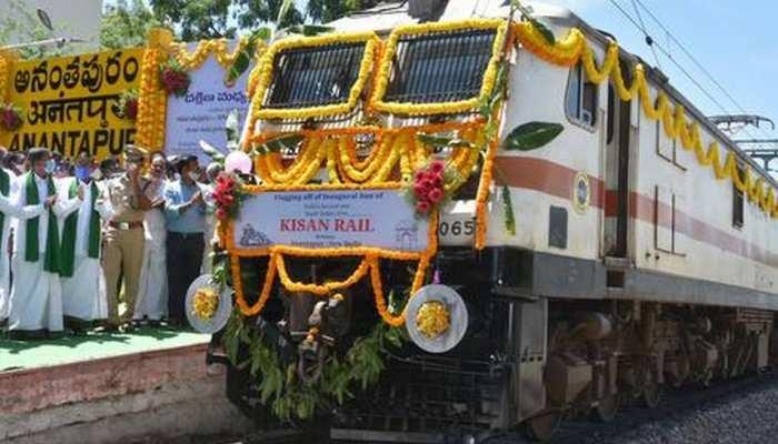 दक्षिण भारत से चली पहली किसान रेल, देश के किसानों को ये होगा फायदा